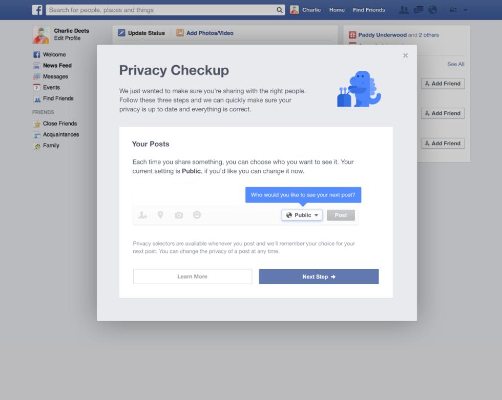 Perché Facebook sta cambiando idea sulla privacy