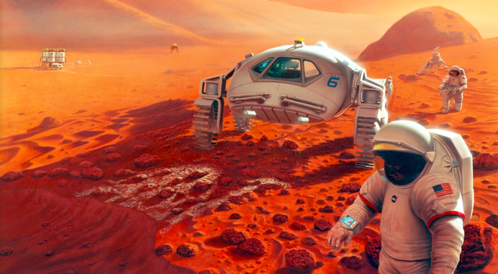 Ecco come saranno le città nello spazio