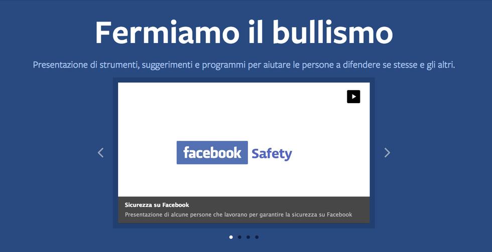 Facebook: ecco come si combatte il bullismo