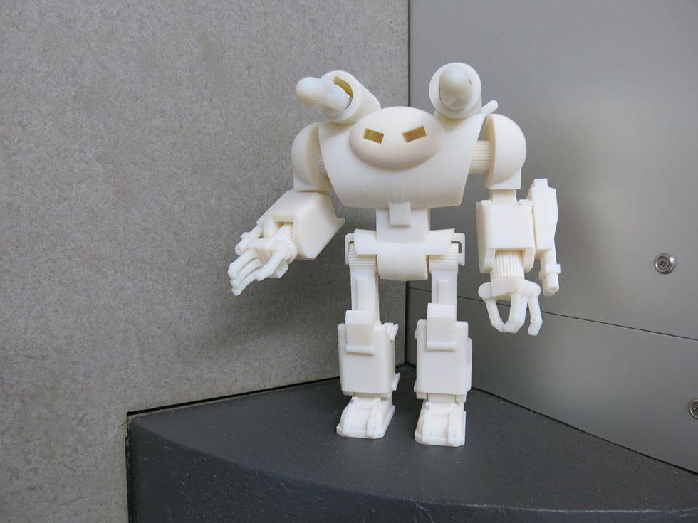 I nostri figli si costruiranno i giocattoli da soli. Con una stampante 3D