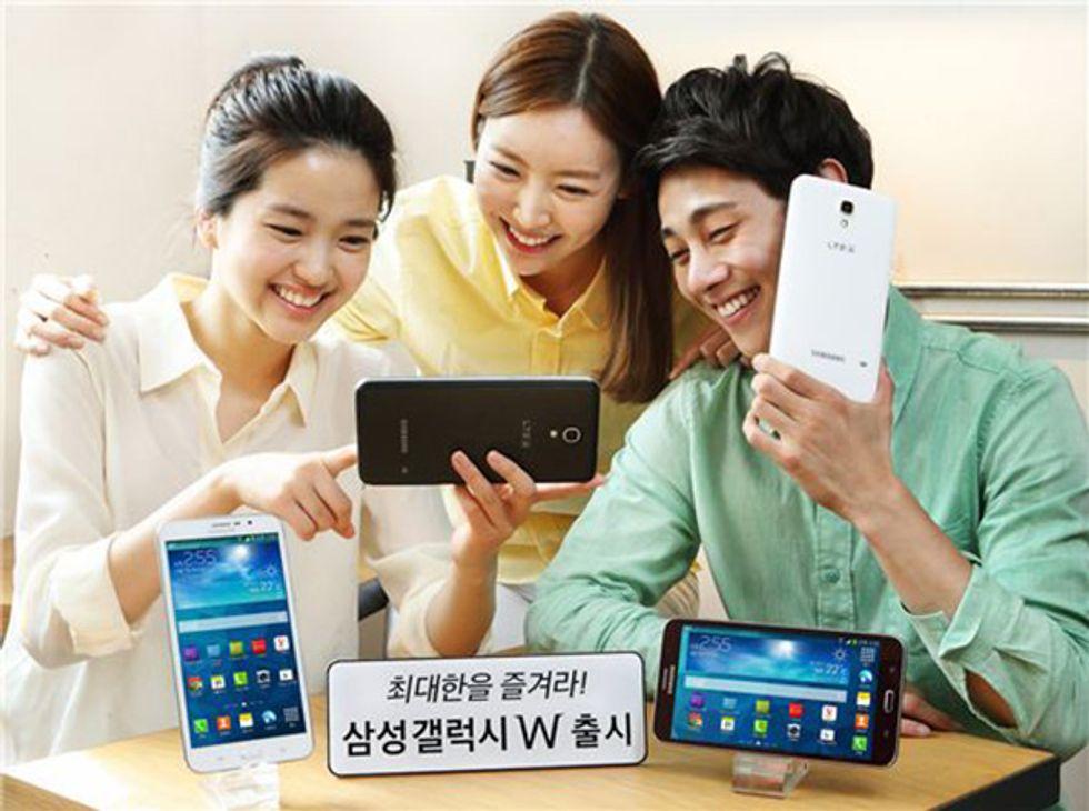 Samsung Galaxy W: il paradosso dello smartphone da 7 pollici