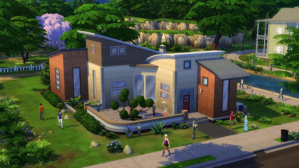 The Sims 4, come si costruisce la casa – Trailer
