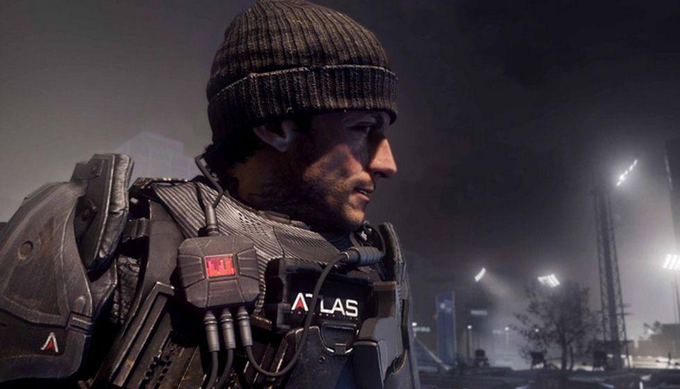 Call of Duty: Advanced Warfare - Video backstage