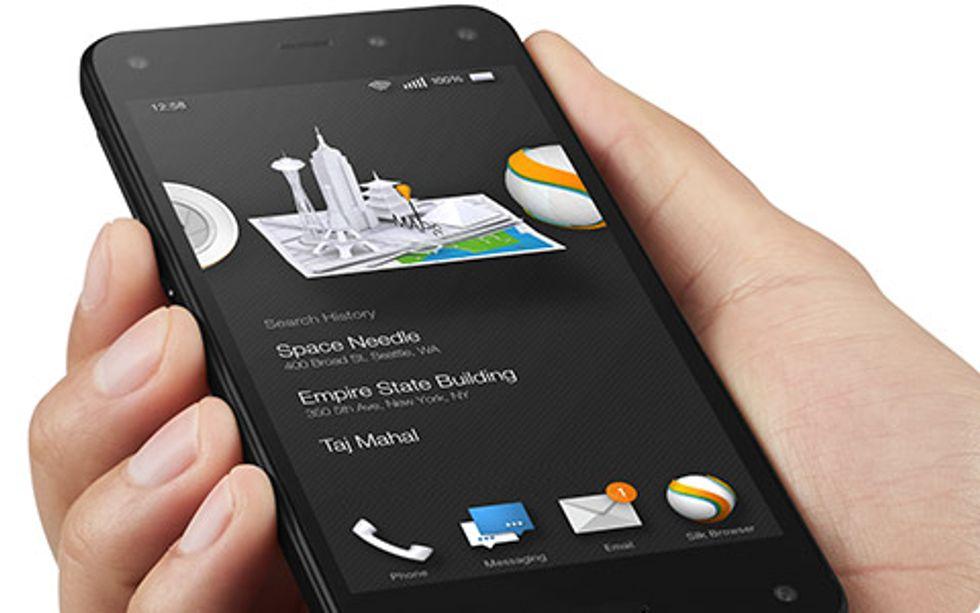 Amazon Fire Phone: come è fatto il primo smartphone 3D