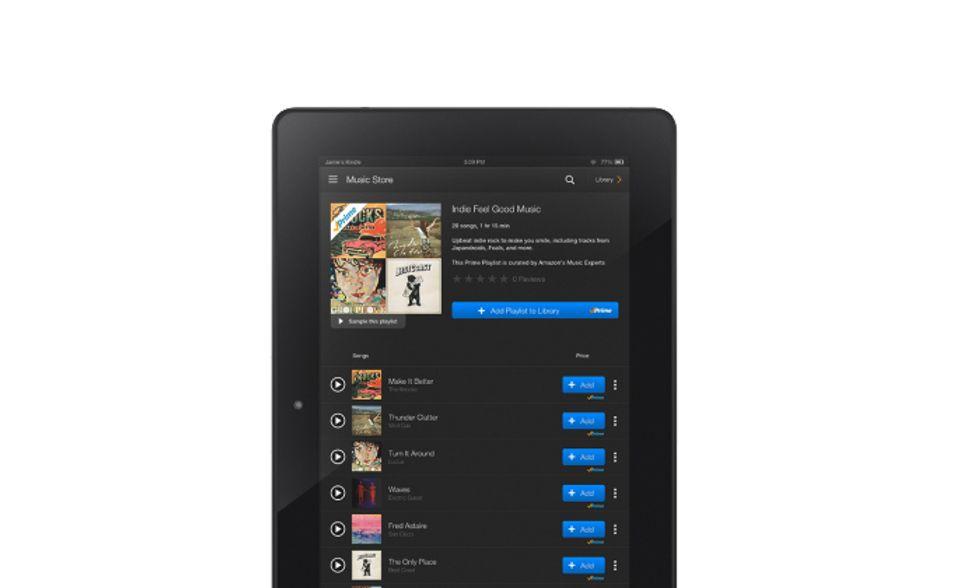 Amazon Prime Music: la sfida a Spotify parte ad handicap