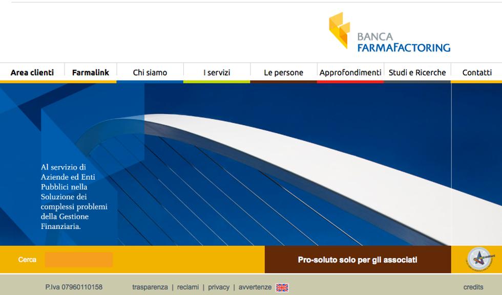 Banca Farmafactoring e il finanziamento da 255 milioni