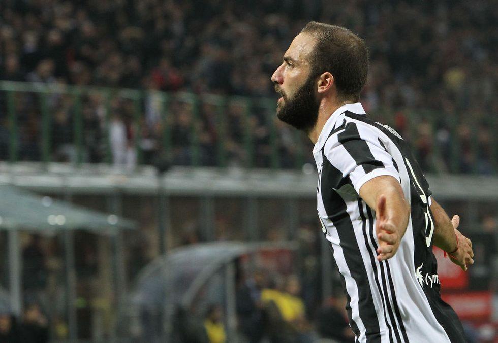 Juventus Higuain doppietta San Siro Milan