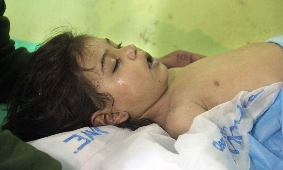 Siria, attacco con i gas
