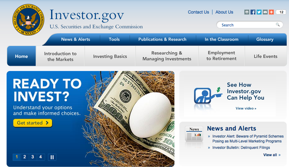 Web e risparmi: Consob lancia il primo portale anti - truffa