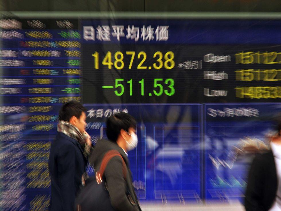 La Borsa di Tokyo in picchiata. Nuovi timori sull'economia mondiale