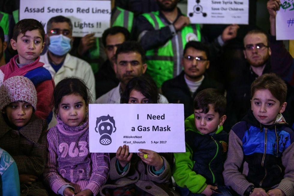 siria vittime gas solidarieta