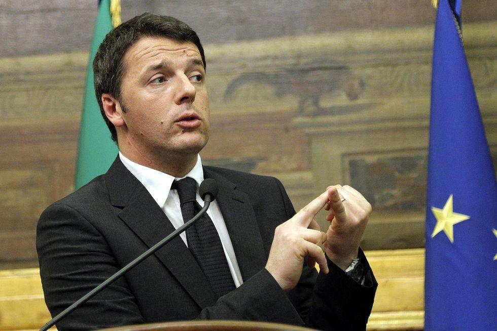 Lo spread in discesa e l'effetto Renzi