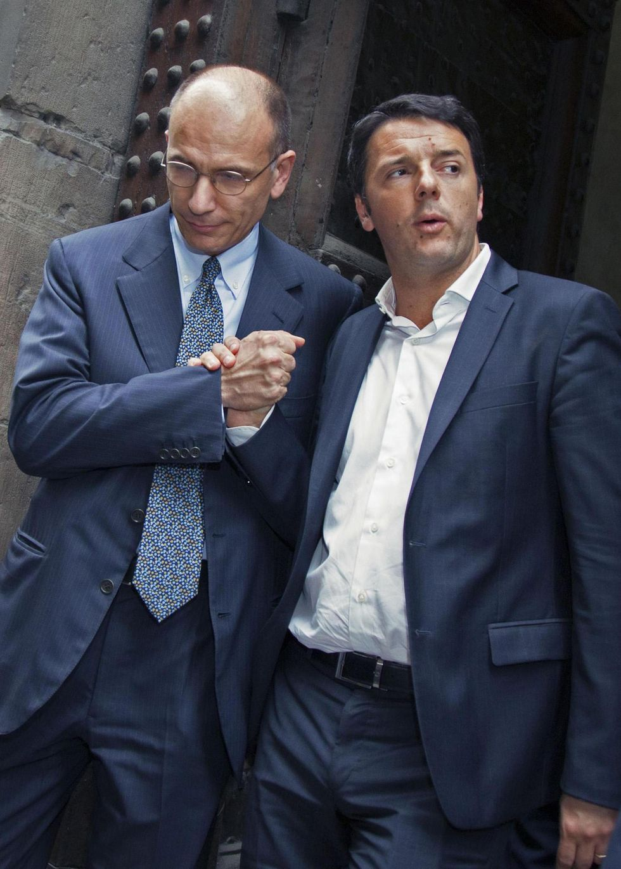 Rottamazione compiuta: nel Pd la sfida è tra Renzi e Letta