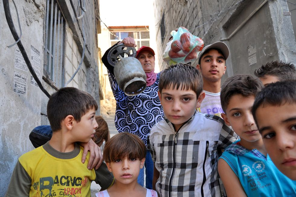 A Damasco la gente ha paura