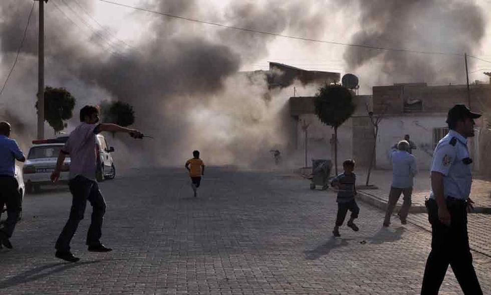 L'inferno di Jobar fuori Damasco