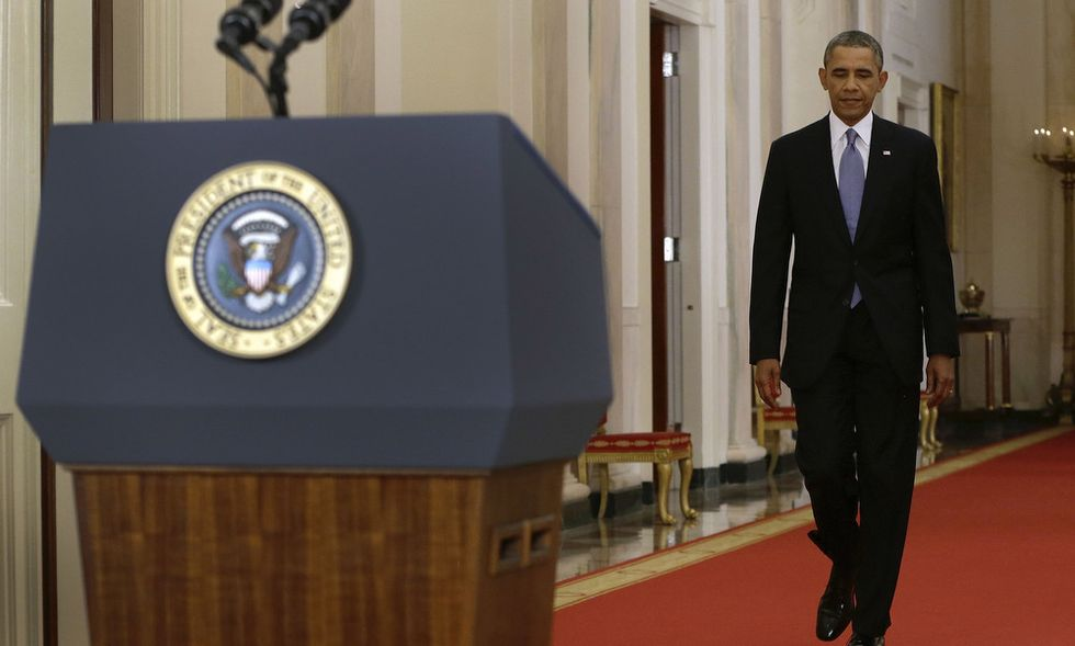 L'imbarazzo di Barack Obama davanti alla nazione