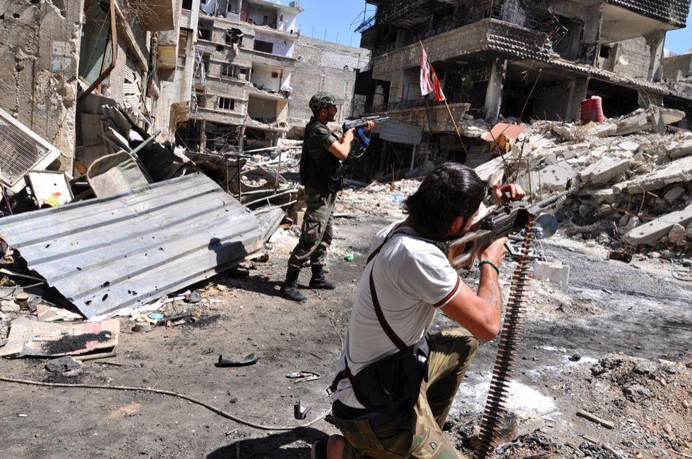 L'Isis tenta di sfondare anche a Damasco