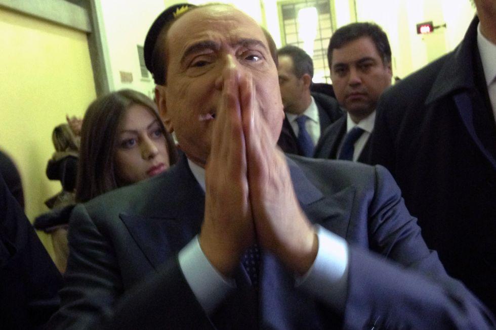 Gli speciali tribunali per Silvio