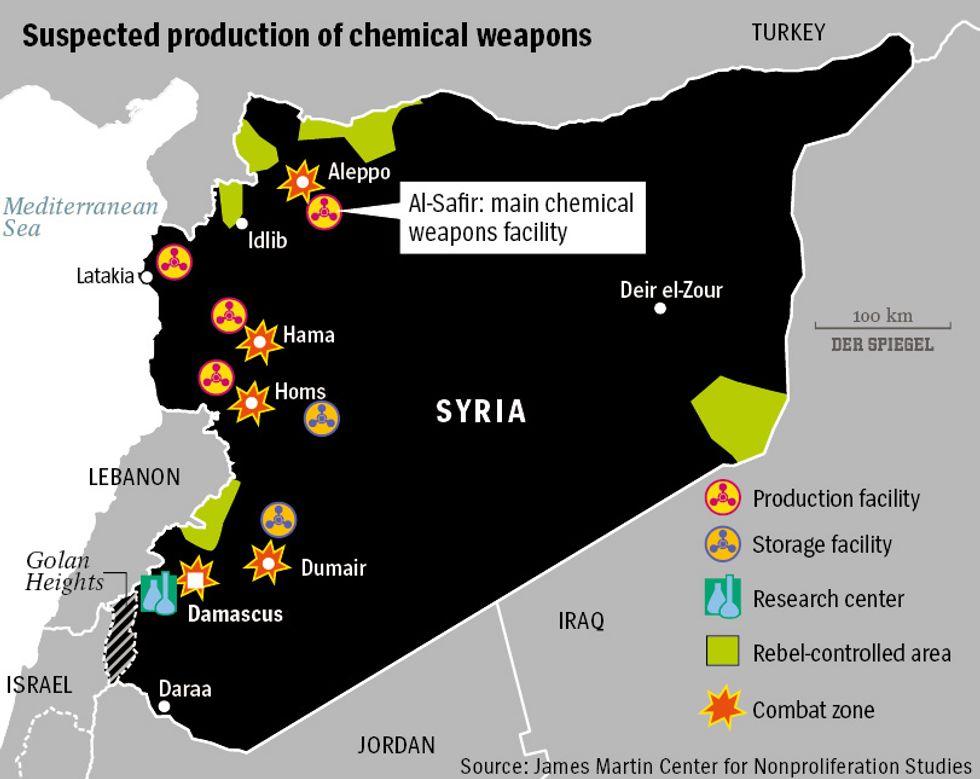 Smantellare le armi chimiche della Siria è impossibile