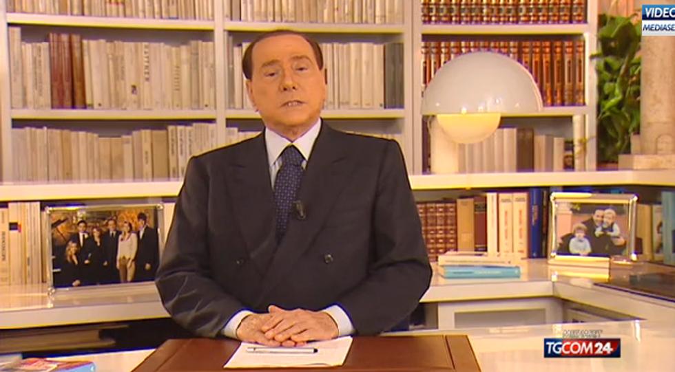Il videomessaggio di Silvio Berlusconi