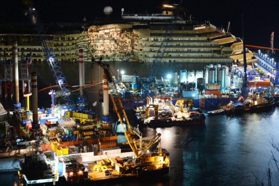 Quale porto per la Costa Concordia?