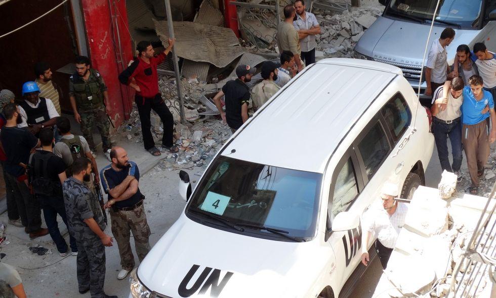 Il rapporto Onu sui gas punta verso Assad