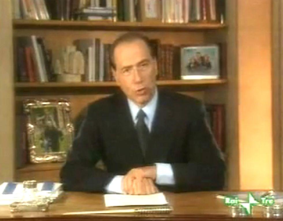 La storia politica di Silvio Berlusconi