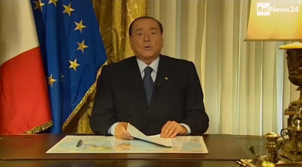 Tutti i videomessaggi di Berlusconi
