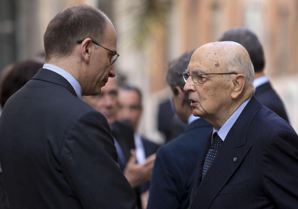 Letta (e Napolitano) pronti ad anticipare la crisi (e Berlusconi)