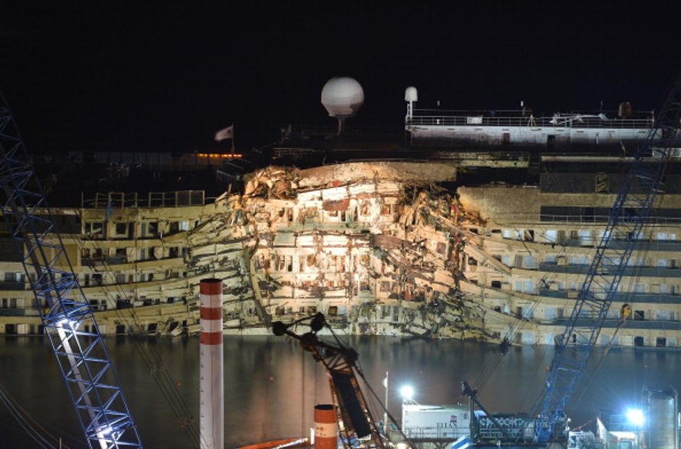 Costa Concordia: tra ricerche e processo