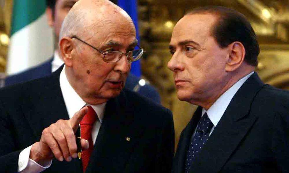 Dimissioni PdL: la nota di Giorgio Napolitano