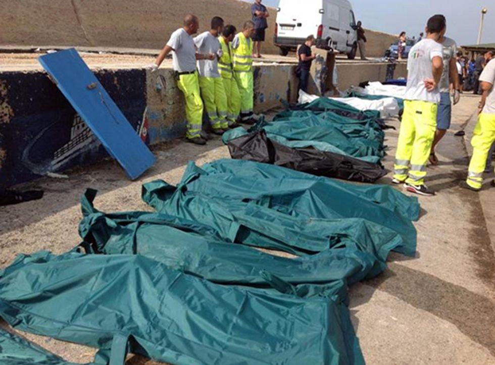 Strage di immigrati a Lampedusa