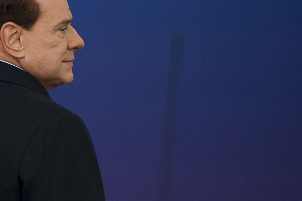 Berlusconi, uno e trino