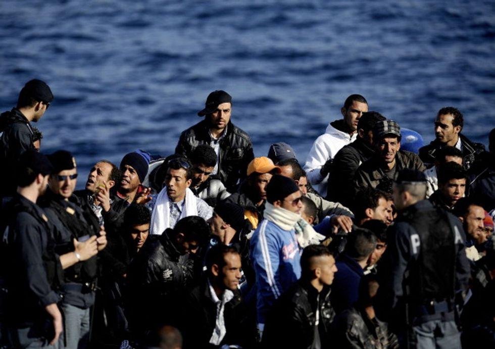 Quel fiume di immigrati verso l'Europa