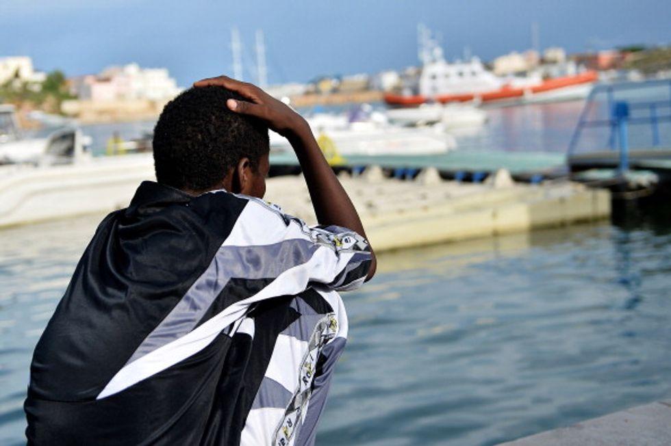 Le case aperte di Lampedusa