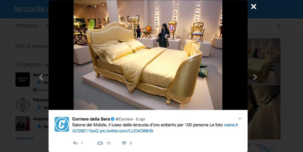 I sogni sono d'oro con le nuova lenzuola deluxe