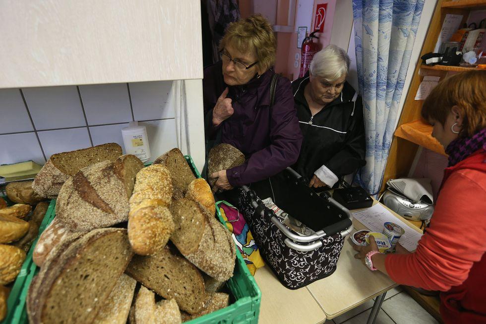 Allarme povertà in Europa