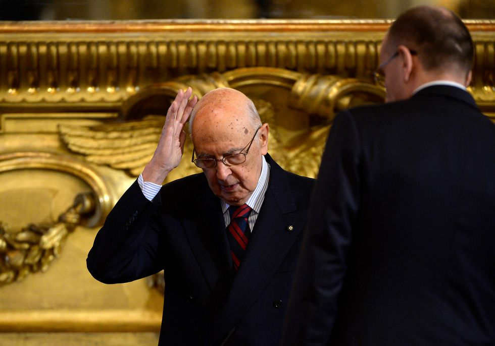 L'amarezza di Napolitano, il testimone