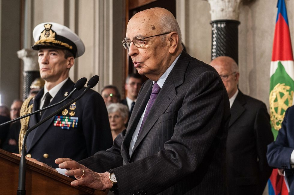 Al voto contro Napolitano