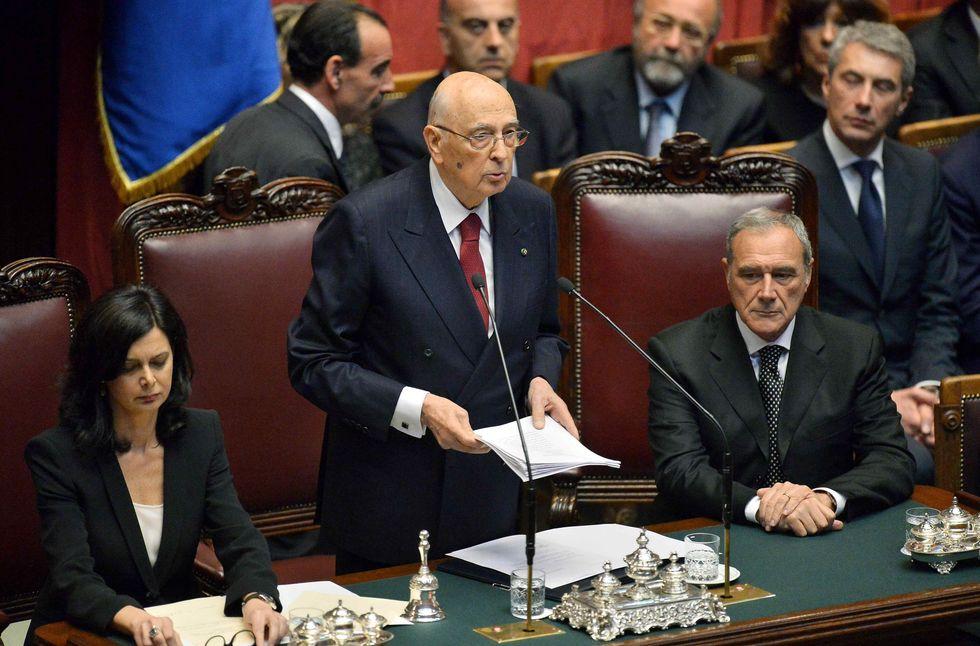 Napolitano, il Picconatore