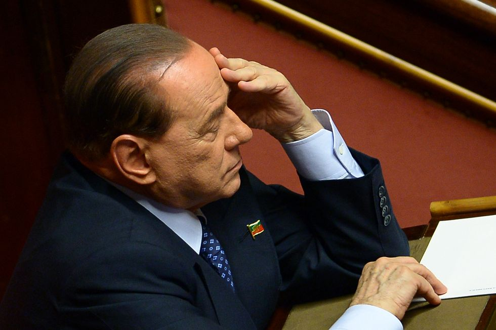 Berlusconi ed i figuranti