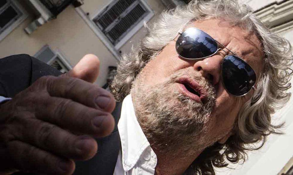 Il rumore di fondo di Beppe Grillo