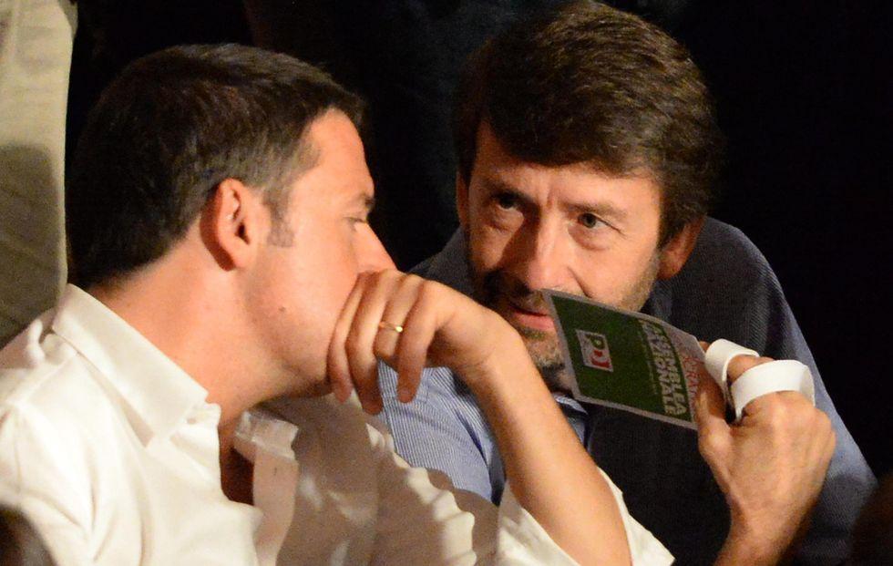 I detrattori sul carro di Renzi