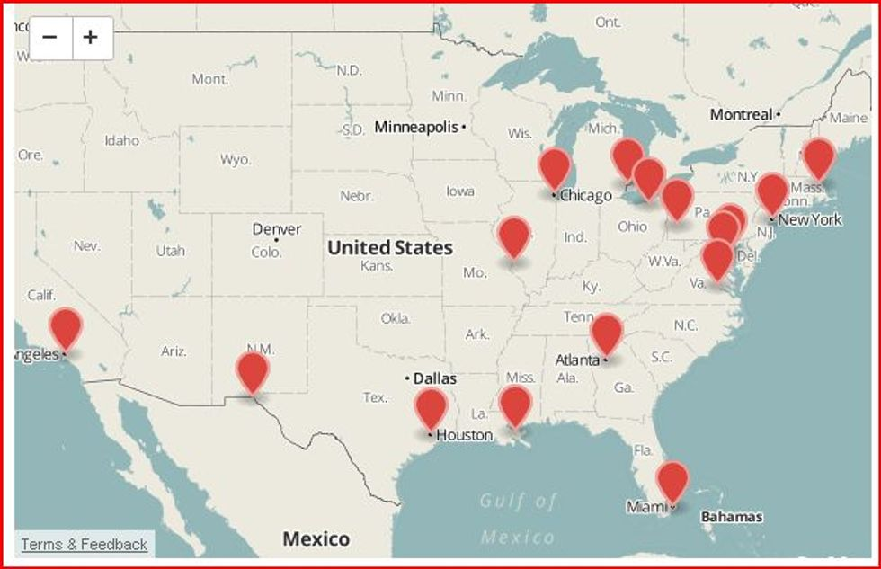 Turisti; attenti agli Stati Uniti