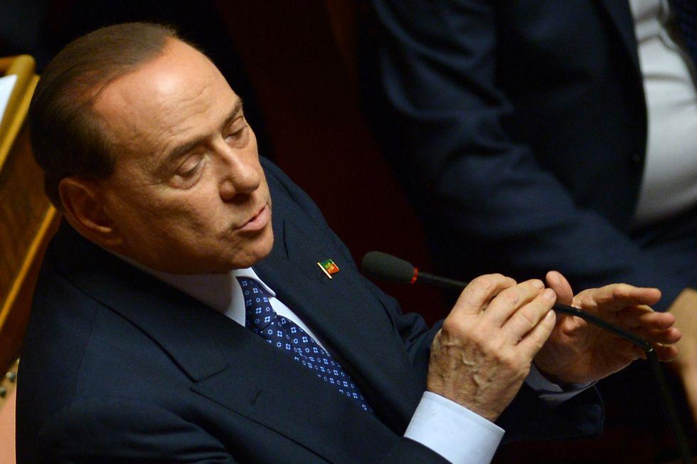 """Berlusconi: """"Chi non crede in Forza Italia è libero di andarsene"""""""