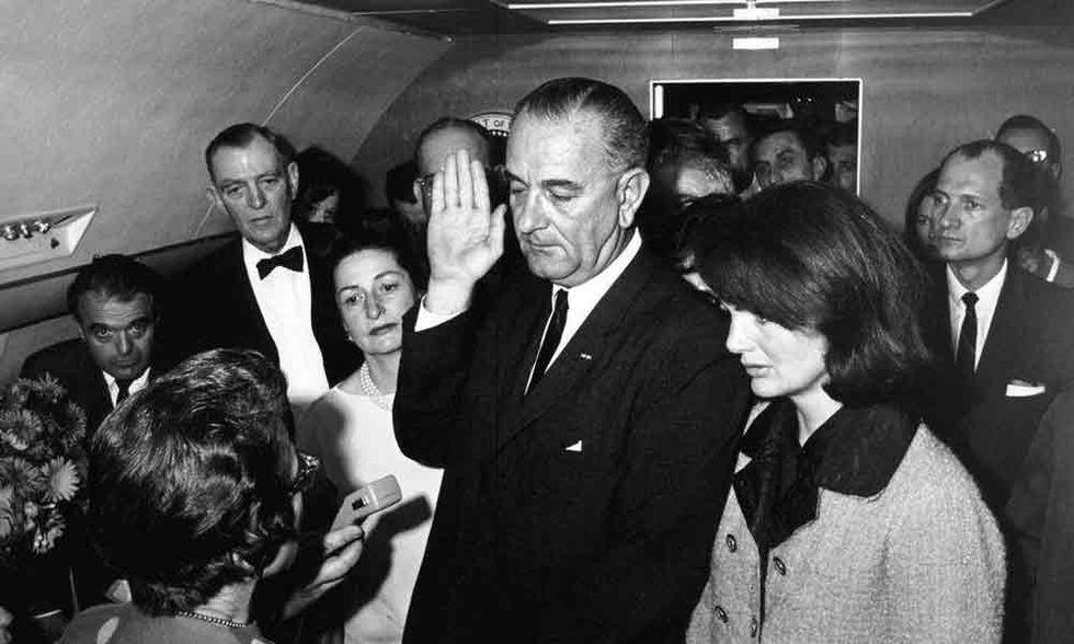 Il mito Kennedy, l'eroe Lyndon Johnson