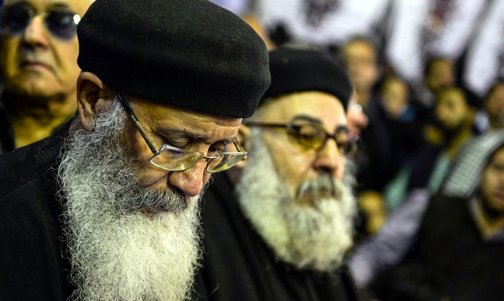 funerali strage tanta egitto copti