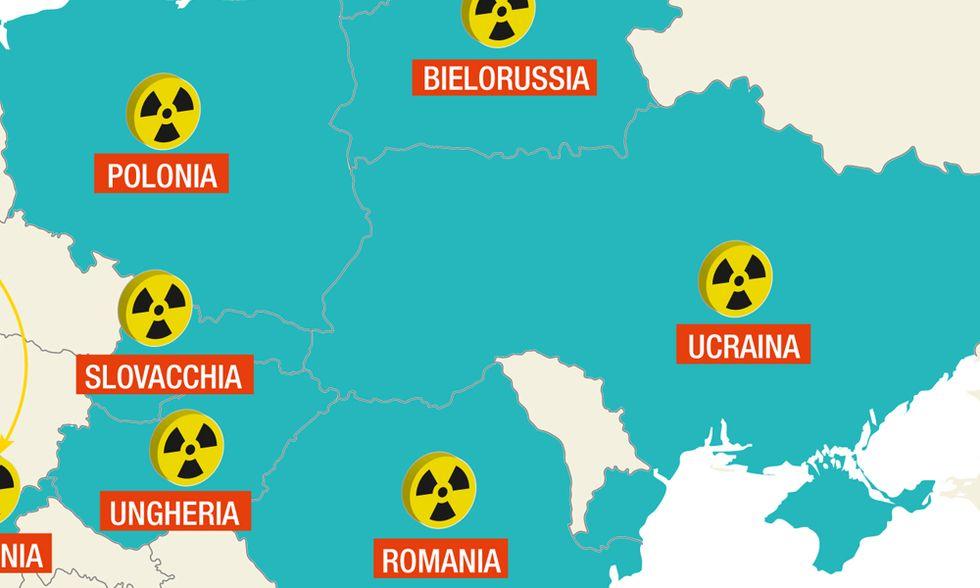 In Est Europa riparte la corsa al nucleare