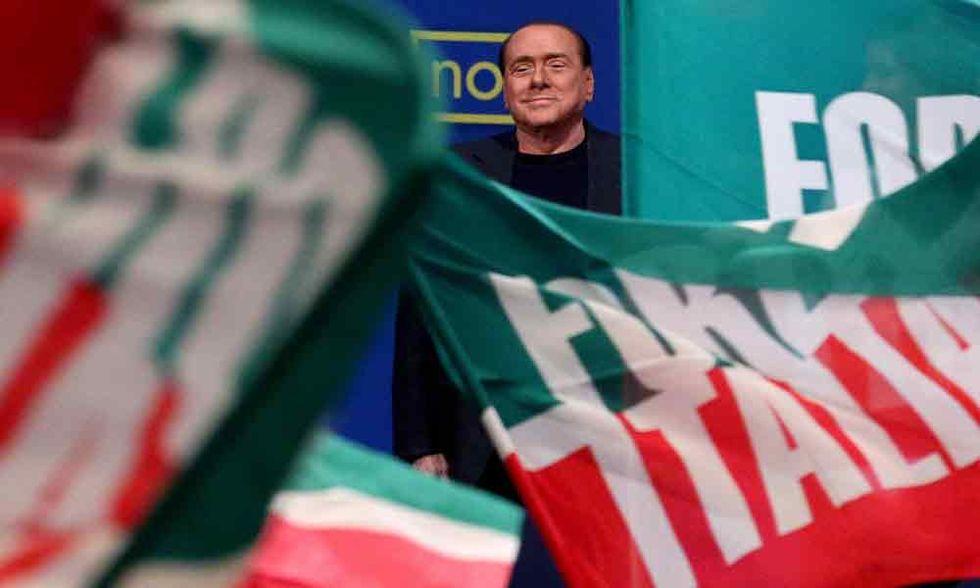Conferenza stampa di Berlusconi - La cronaca
