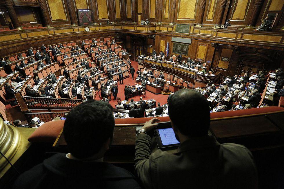 Il Senato ha votato la decadenza di Berlusconi